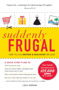 Update on Suddenly Frugal, The Book
