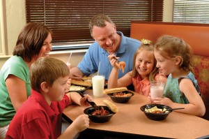 FAZOLI'S KIDS-EAT-FREE WEEKENDS