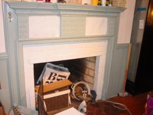 Frugal Fireplace Refinishing